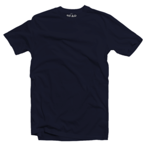 navy blue crew neck