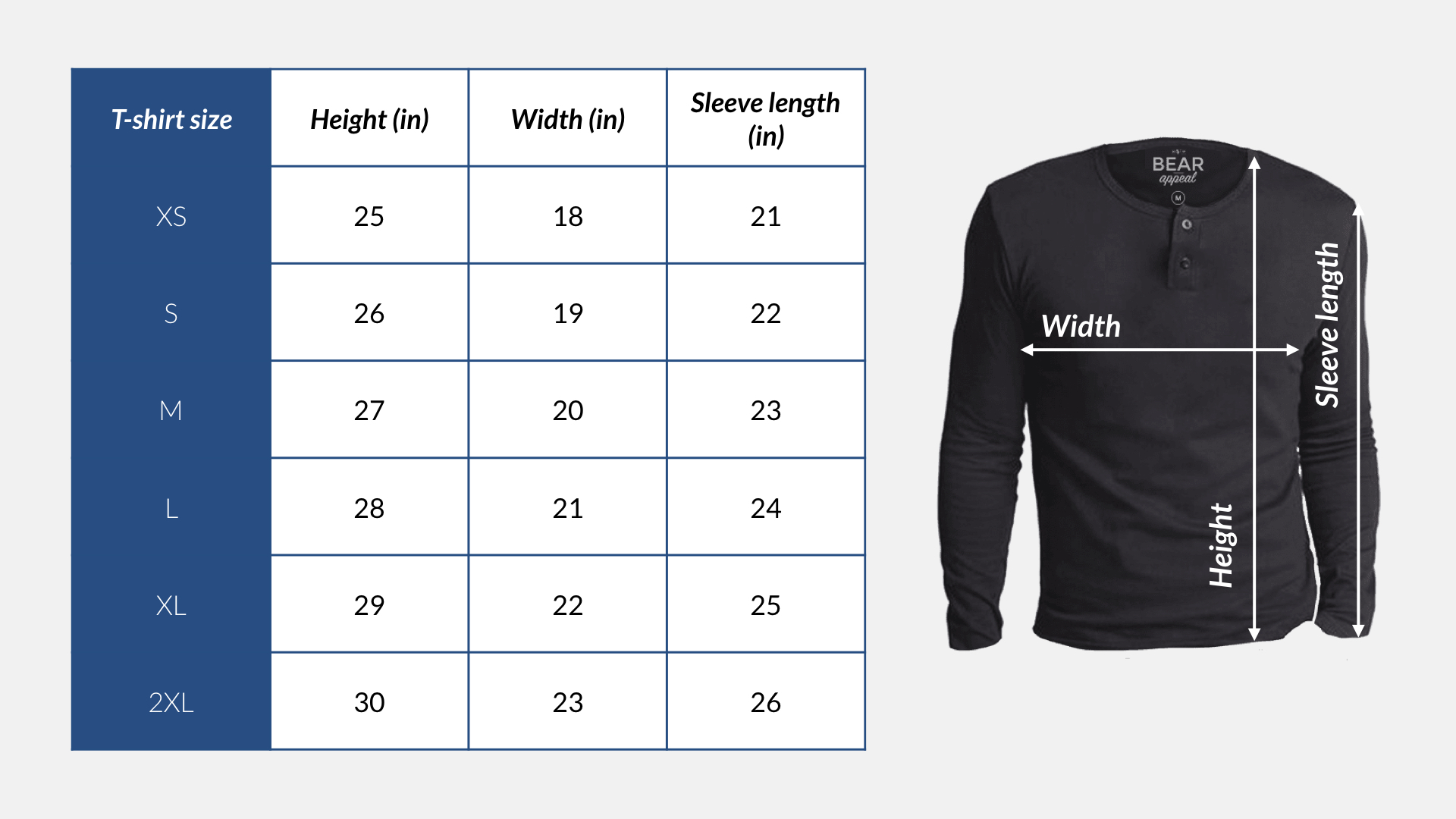 Woodland Long Sleeves Crew Neck 3 Pack