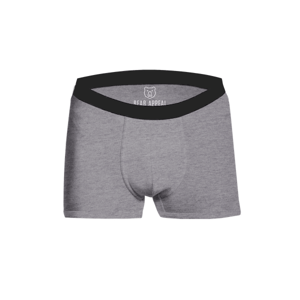 grey boxer brief