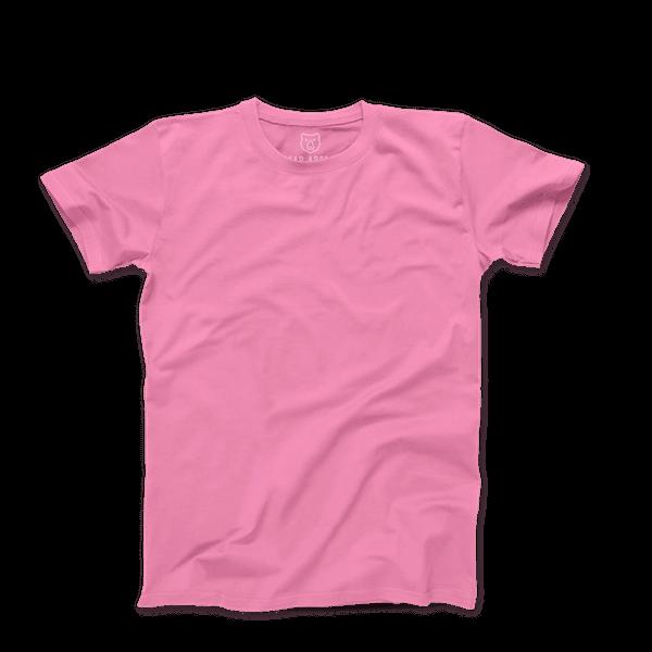 Baby Pink Premium Crew Neck T-shirt