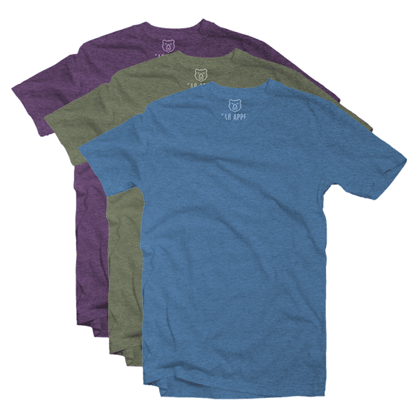 urban v-neck 3 pack