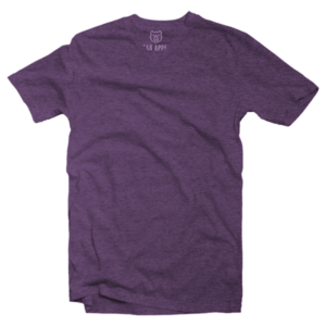 deep purple v-neck