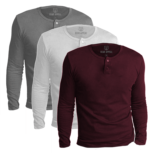 urban long sleeves 3 pack
