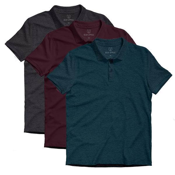 classic lite polo 3 pack