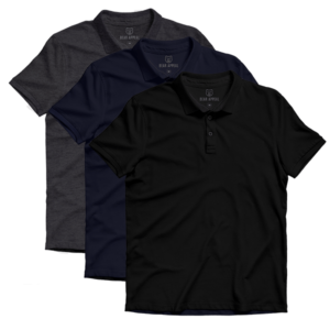 lite polo 3 pack
