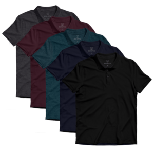 lite polo 5 pack