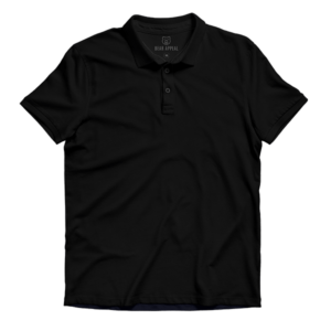 black lite polo