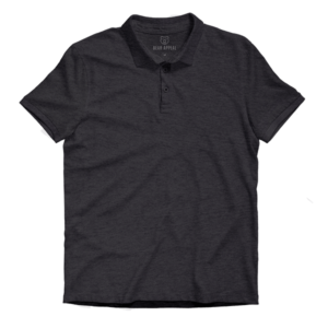 charcoal grey lite polo