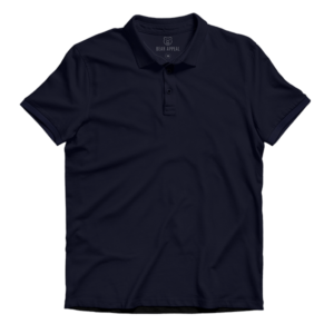 navy blue lite polo