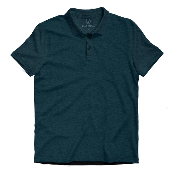 sea green lite polo