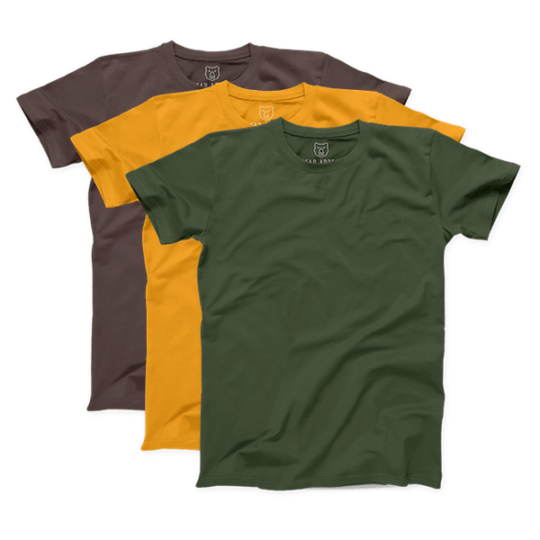 autumn premium crew neck 3 pack