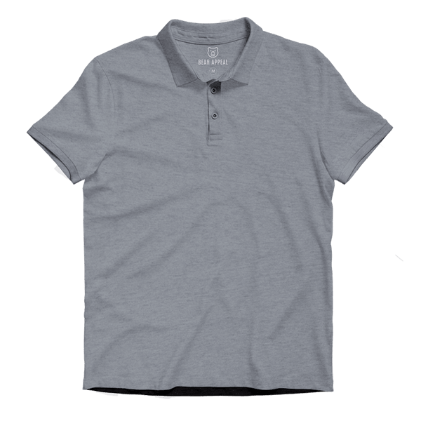 Grey Lite Polo