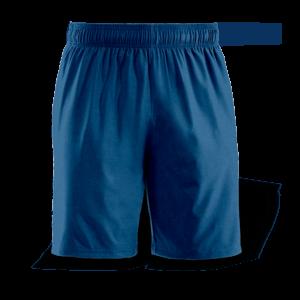 carbon blue casual short