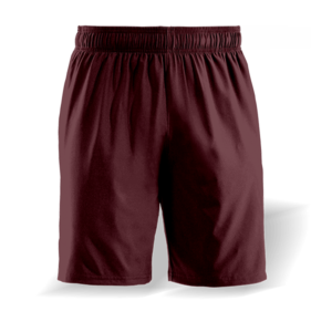 maroon casual shorts